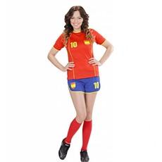 Voetbal kostuum dames Spanje