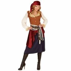 Caribische Zeerover kostuum dames Zigeuner stijl
