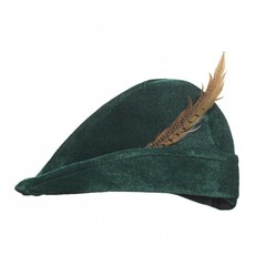 Muts Robin Hood met veer