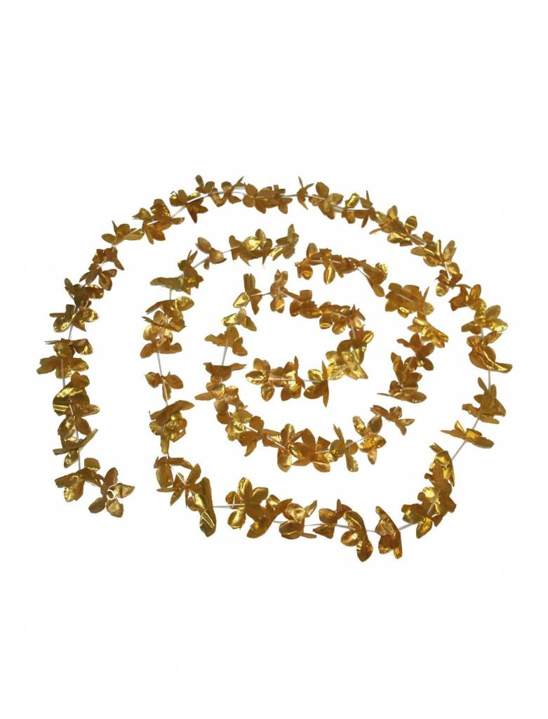 Hawaii slinger goud 360cm