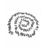 Hawaii slinger zilver 360cm