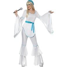 Super Trooper Abba kostuum vrouw