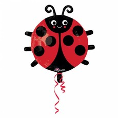 Folie Ballon Lieveheersbeestje 45 x 48 cm