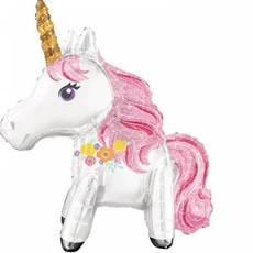 Magical Unicorn Folieballon 55 x 63 cm