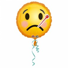 Helium Ballon Beterschap Emoticon 43cm