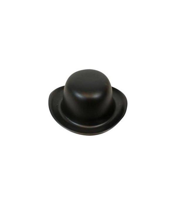 Bolhoed mini zwart plastic