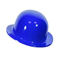 Bolhoed blauw plastic kindermaat