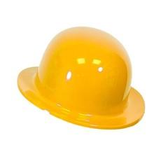 Bolhoed geel plastic kindermaat