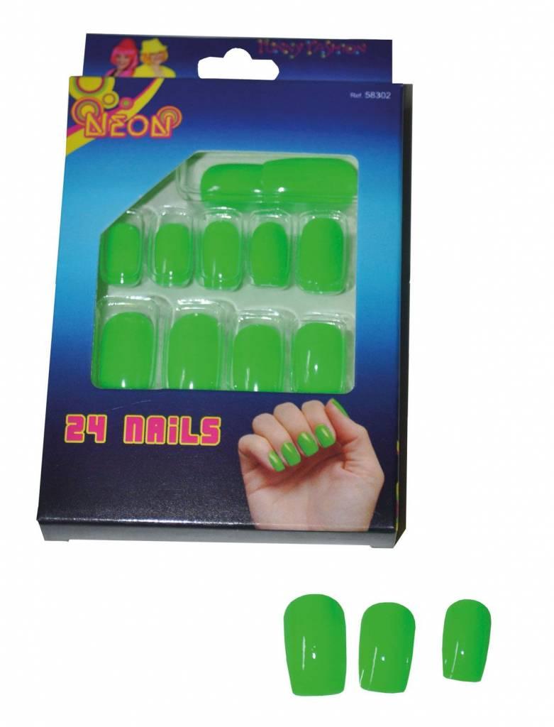 Nagels fluor groen