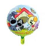 Folieballon Woezel en Pip 46cm