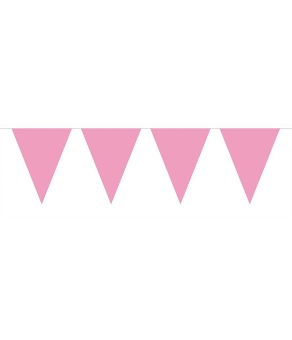 Vlaggenlijn roze