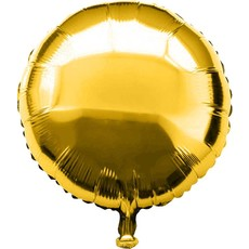 Folie ballon rond goud 46 x 46 cm