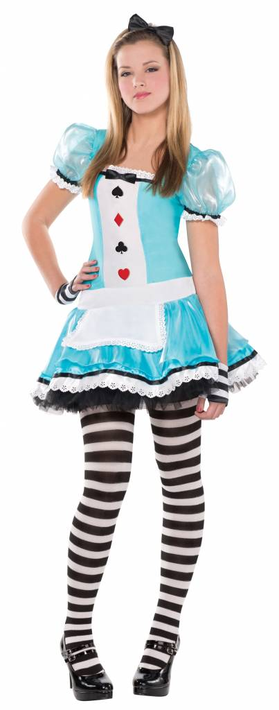 Alice in Wonderland outfit junior