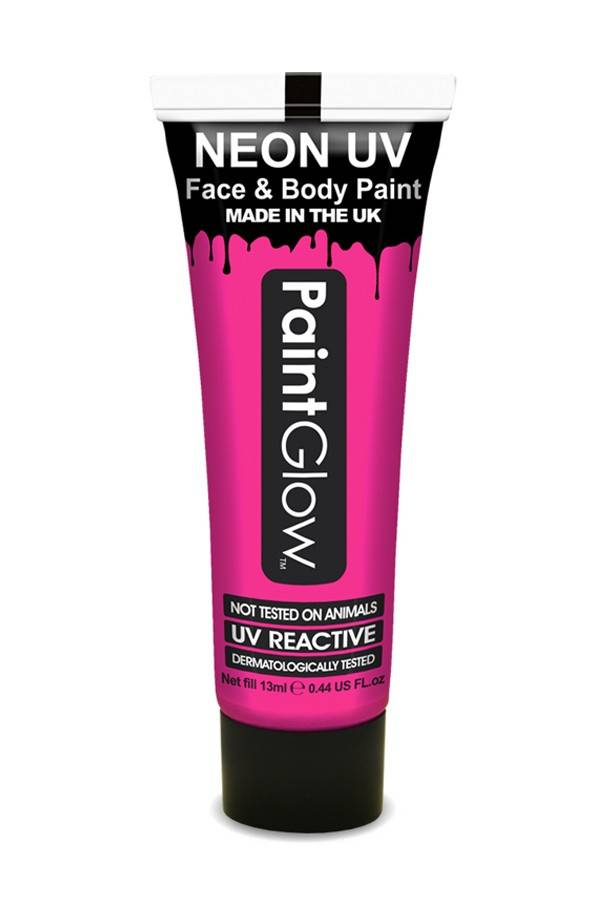 Neon Face Body paint pink UV G.I.D 10ml
