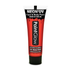 Neon Face & Body paint rood UV G.I.D 10ml