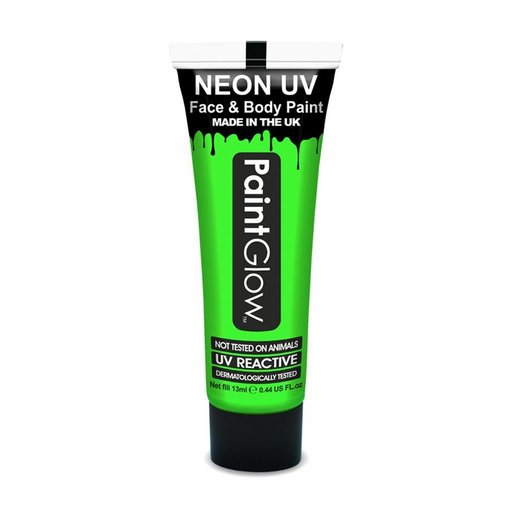 Neon Face & Body paint groen UV G.I.D 10ml