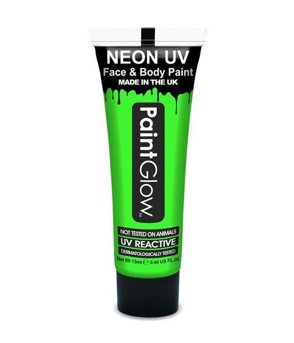 Neon Face & Body paint groen UV G.I.D 10ml
