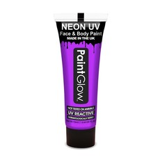 Neon Face & Body paint paars UV G.I.D 10ml