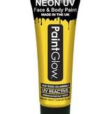 Neon Face & Body paint geel UV G.I.D 10ml