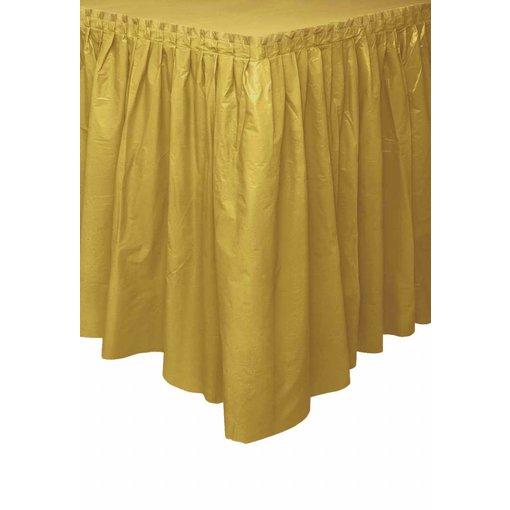 Tafelrok goud 73x426cm