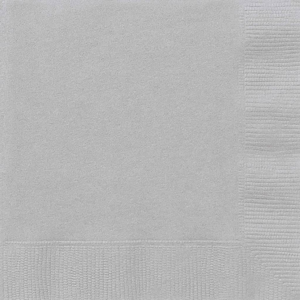 Zilveren servetten 20 stuks