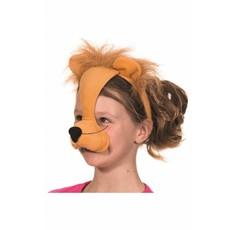 Dierenmasker Leeuw met geluid
