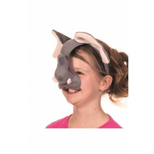 Dierenmasker Olifant met geluid