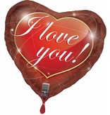 I Love You Folieballon