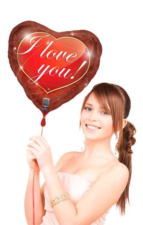I Love You Folieballon Feestbazaarnl