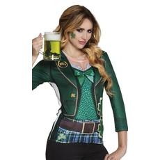 Fotorealistisch Shirt Dames St. Patricksday