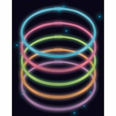 Glow In The Dark Kettingen 56cm 10 stuks