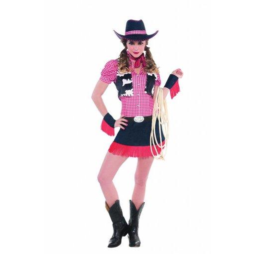 Rawhide Cowgirl kostuum dames