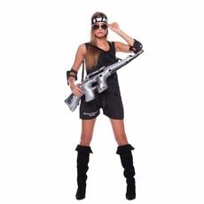 SWAT Kostuum Vrouw 3-delig