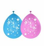 Ballonnen eenhoorn - 8 stuks