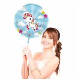 Unicorn folieballon - 45 cm