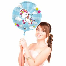 Unicorn folieballon - 45 cm