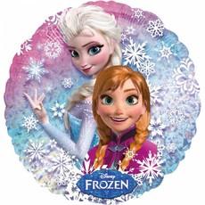 Folieballon Frozen Anne & Elsa Holografisch - 43 cm
