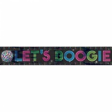 Banner Let's Boogie Disco