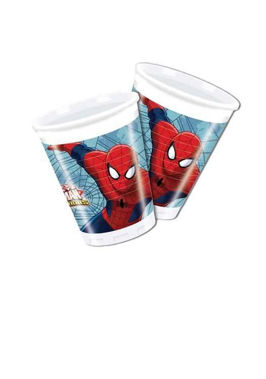 Bekers Spiderman (8st)