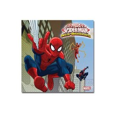 Spider-Man Warriors Servetten 20 stuks