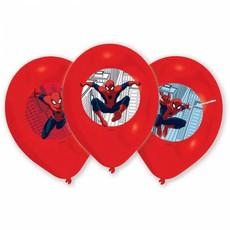 Spiderman Ballonnen Versiering - 6 stuks