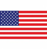 Amerikaanse vlag 90x150cm
