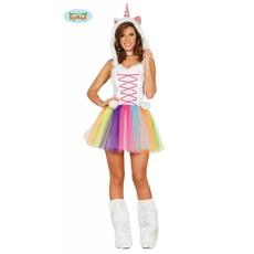 Unicorn kostuum dames 3-delig