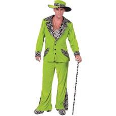 Pimp Kostuum Man Groen