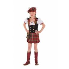 Schots jurkje meisje