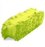 Crepe Papier Slinger Lime Groen - 24 meter