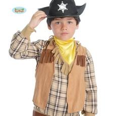 Cowboy gilet kind