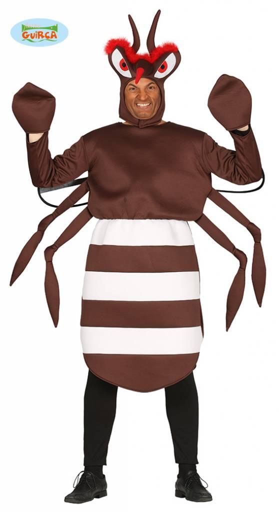 Muggen kostuum man