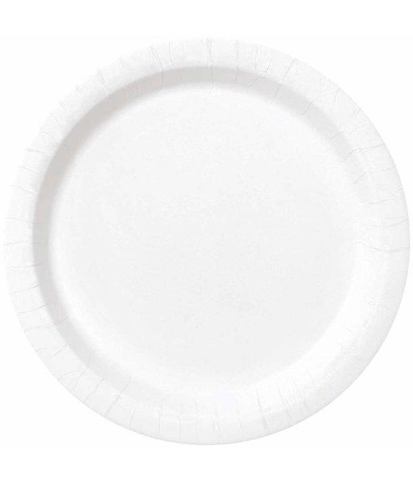 Witte borden 23cm