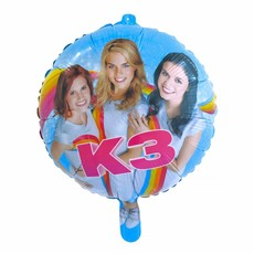 K3 Party Folieballon 46cm